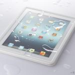 iPad 防水ケースは100均よりジップロック
