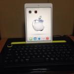iPad キーボードのおすすめロジクールk480使用で3倍速アップ