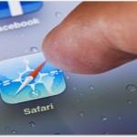 iPadでSafariの検索履歴を非表示にするには